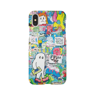 galaxxxyの8words wall paint スマートフォンケース