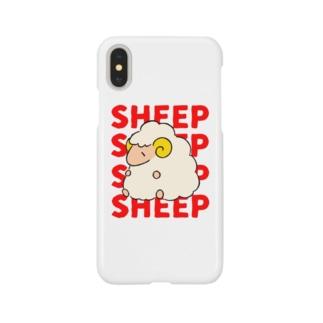 ヒツジのSHEEPちゃん Smartphone cases