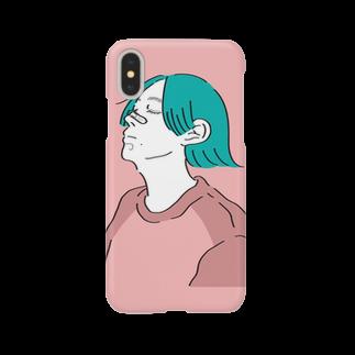 mano3のおちゃめさん Smartphone cases