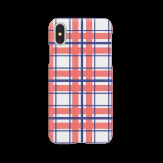 three_days_from_henceのなんか好きな色のチェック Smartphone cases