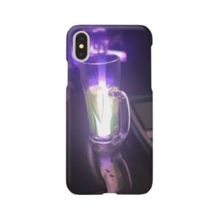 サイリウムとリアルゴールドと Smartphone cases