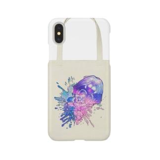 すぷたんウォーターカラー Smartphone cases