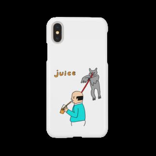 花くまゆうさくのJUICE(ジュース) Smartphone cases