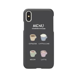 いつでもカフェ気分 Smartphone cases