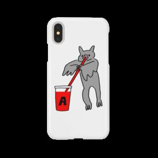 花くまゆうさくの血液型をさりげなく申告(A) Smartphone cases