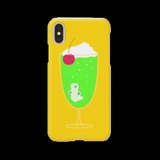 utaのcreamsodaのくまちゃん Smartphone cases