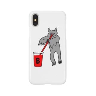 血液型をさりげなく申告(B) Smartphone cases