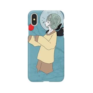 地球仔ちゃん。chikyuuko. Smartphone cases