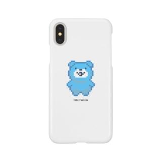 くまドット Smartphone cases