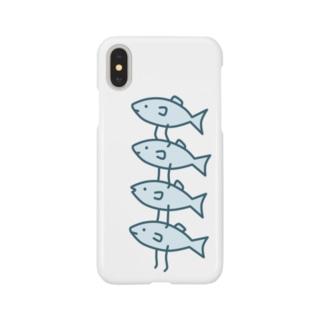 段々いわし Smartphone cases