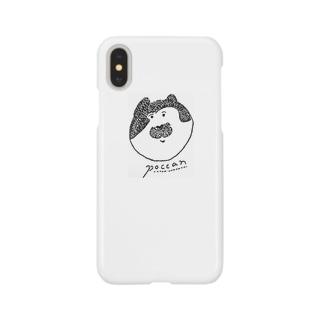 猫のぽっきゃん Smartphone cases
