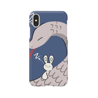 ヘビうさ Smartphone cases