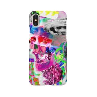 スカルがシンクロ Smartphone cases
