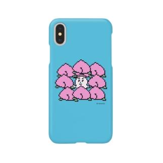 ももからこんにちは。 Smartphone cases