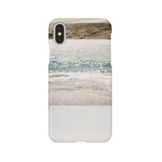 海辺のiPhoneケース Smartphone cases