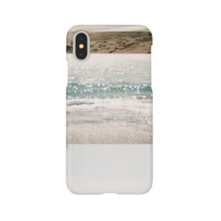 38_aの海辺のiPhoneケース Smartphone cases