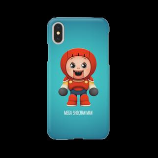 AKIRAMBOWのMEGA SHO-CHAN MAN Smartphone cases