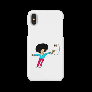 花くまゆうさくのけん玉ドリル Smartphone cases