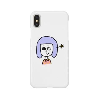 ウインク! Smartphone cases