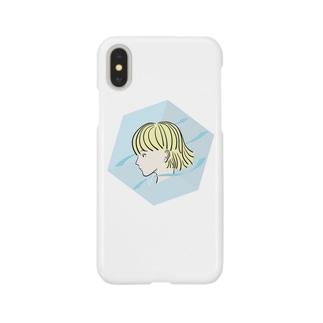 空間ガール Smartphone cases