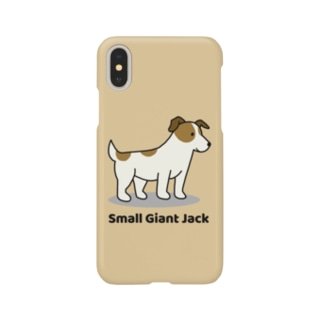 small giant jack(イエロー) Smartphone cases