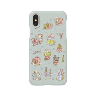 cotolieのガーデンくまちゃん Smartphone cases