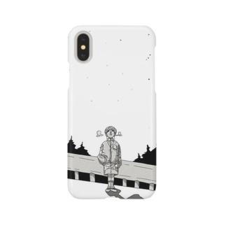 オリオン座の見える夜 Smartphone cases