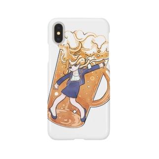 ビールちゃん Smartphone cases