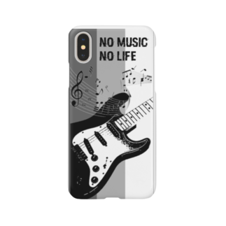 aco516のNO MUSIC NO LIFE Smartphone cases