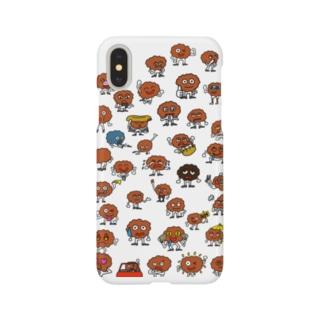 唐揚げの妖精・三代目アゲゴロー Smartphone cases