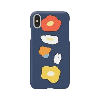 うさぎとポピー Smartphone cases