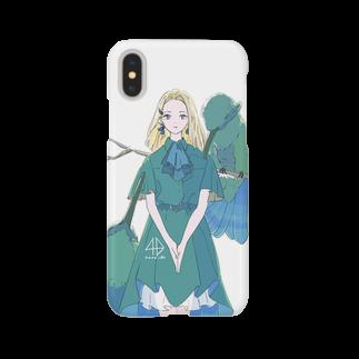 ハルのヨソオイのアオミミハチドリ Smartphone cases