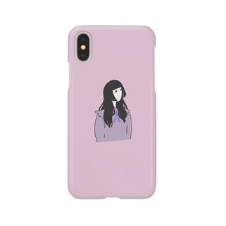 似顔絵ガール Smartphone cases