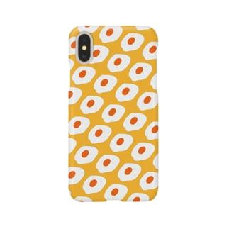 めだまやき大量発生(イエロー) Smartphone cases