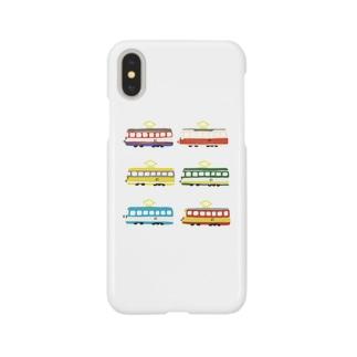 ろめんでんしゃのうた Smartphone cases