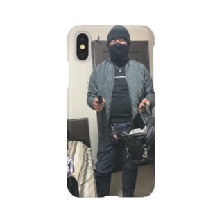 クリ強盗 Smartphone cases