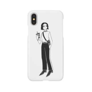AOI MGの『タピオカ』 Smartphone cases