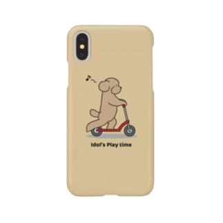 トイプー 1 アプリコット系(イエロー) Smartphone cases