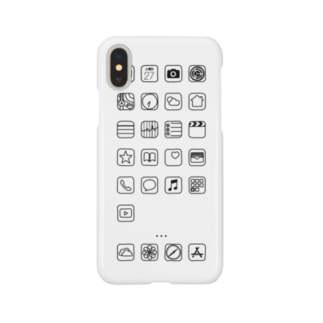 ok_neoのiPhoneケース Smartphone cases