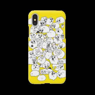 ヨロでございま府のちみぎゅと… Smartphone cases