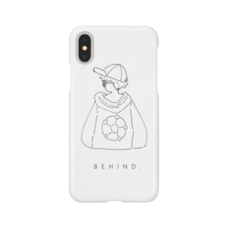 me_ illustrationのサッカー Smartphone cases