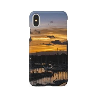 Waikiki Sunset Smartphone cases