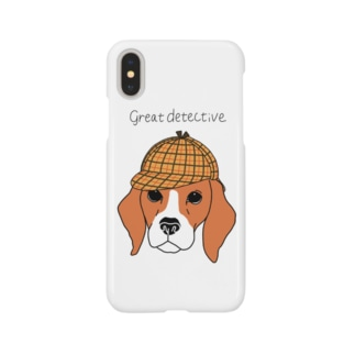 great  detective beagle Smartphone cases
