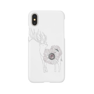 ゆるのしかくん Smartphone cases