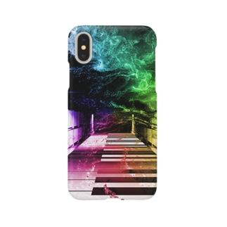 非現実的空間【Piano】 Smartphone cases