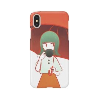 ドリップコーヒー Smartphone cases