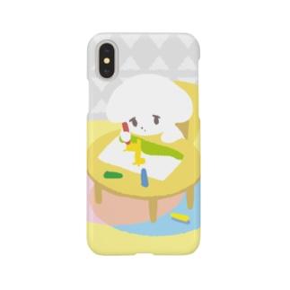 こいぬちゃん(おえかき) Smartphone cases