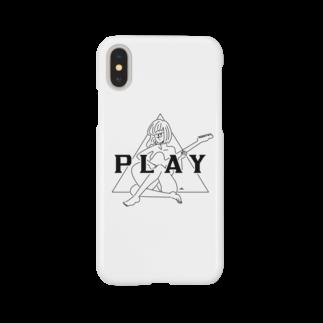 マチダタケルのPLAY GIRL/白ボディ推奨 Smartphone cases