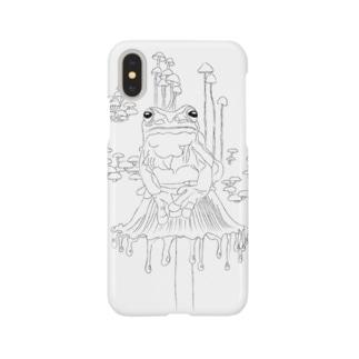 キノカエルさんの共生 Smartphone cases