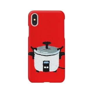 レトロ電気釜 Smartphone cases